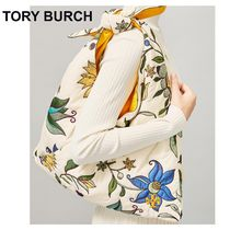 Tory Burch Flower Patterns Casual Style Party Style Elegant Style