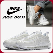 Nike AIR MAX 97 Casual Style Unisex Street Style Logo Low-Top Sneakers