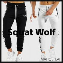 SQUAT WOLF Street Style Collaboration Yoga & Fitness Bottoms