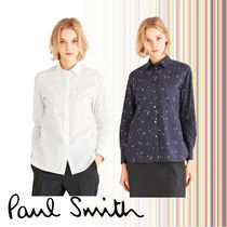 Paul Smith Long Sleeves Cotton Shirts & Blouses
