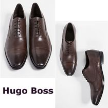 Hugo Boss Plain Leather Oxfords