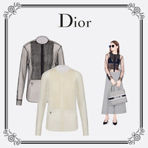 Christian Dior Casual Style Long Sleeves Party Style Elegant Style