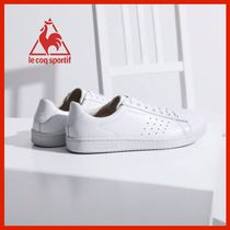 le coq sportif Casual Style Unisex Street Style Plain Leather