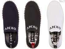 DKNY Platform Round Toe Rubber Sole Casual Style Unisex