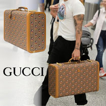 GUCCI Unisex Collaboration Hard Type Luggage & Travel Bags