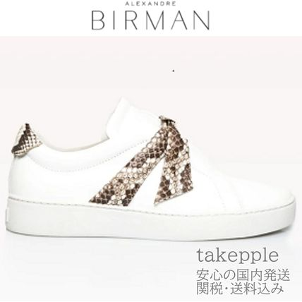 Casual Style Unisex Low-Top Sneakers