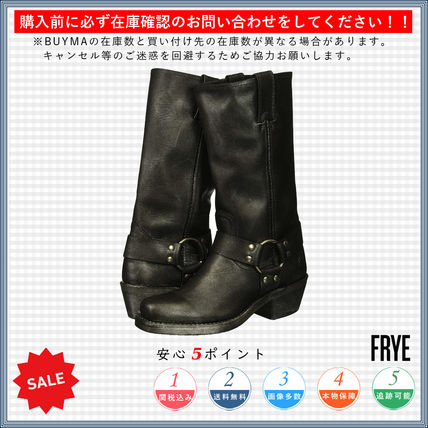 Square Toe Casual Style Plain Boots Boots