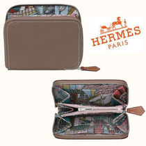 HERMES Silk In Folding Wallets