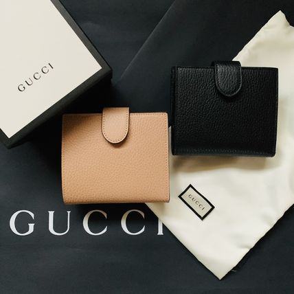 GUCCI Unisex Blended Fabrics Plain Leather PVC Clothing