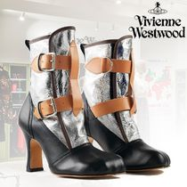 Vivienne Westwood Lace-up Leather Party Style Shoes