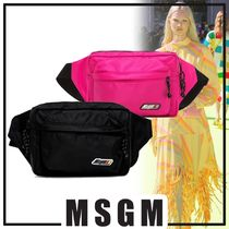 MSGM Casual Style Hip Packs