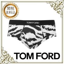 TOM FORD Zebra Patterns Cotton Briefs
