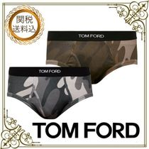 TOM FORD Camouflage Cotton Briefs