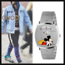 GUCCI Unisex Street Style Collaboration Watches Watches