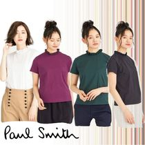 Paul Smith Casual Style Plain Cotton Short Sleeves Shirts & Blouses