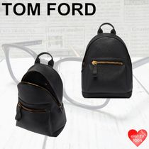 TOM FORD Casual Style Unisex Street Style A4 2WAY 3WAY Plain Leather