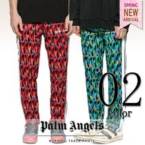 Palm Angels Printed Pants Unisex Street Style Patterned Pants
