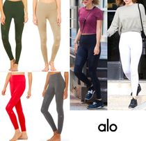 ALO Yoga Blended Fabrics Activewear Bottoms
