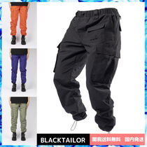 BLACKTAILOR Nylon Street Style Plain Cargo Pants