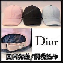 Christian Dior Unisex Street Style Caps