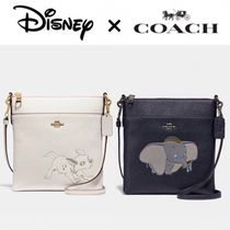 Disney Casual Style Faux Fur Leather Party Style Office Style