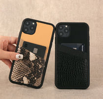 DESIGN SKIN Unisex Faux Fur Blended Fabrics Python iPhone 8 iPhone X