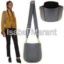 Isabel Marant Casual Style Unisex Studded 2WAY Chain Leather Office Style