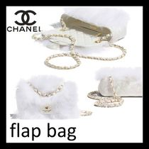 CHANEL Casual Style Lambskin Street Style 2WAY Chain Plain
