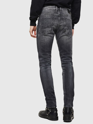 DIESEL Denim Street Style Plain Cotton Skinny Jeans