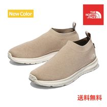THE NORTH FACE Unisex Blended Fabrics Street Style Plain Shoes