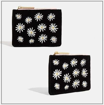 Flower Patterns Small Wallet Coin Cases
