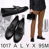 ALYX Loafers Plain Leather Loafers & Slip-ons