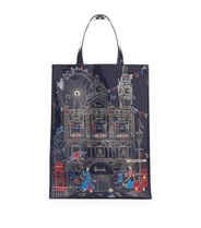 Harrods Casual Style Unisex A4 PVC Clothing Totes