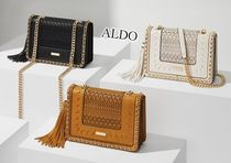 ALDO Casual Style Faux Fur Chain Plain Party Style Office Style