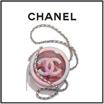 CHANEL Casual Style Chain Plain Party Style PVC Clothing