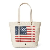 POLO RALPH LAUREN Star Casual Style Unisex Canvas A4 Totes