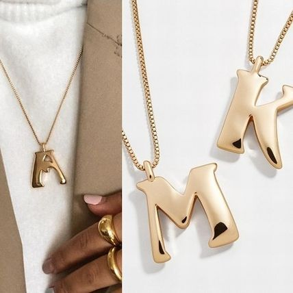 Costume Jewelry Initial Co-ord Necklaces & Pendants