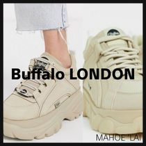 Buffalo LONDON Chunky Heels Low-Top Sneakers