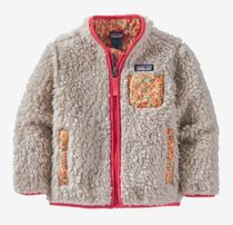 Patagonia Unisex Blended Fabrics Street Style Baby Girl Outerwear