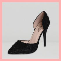 Chi Chi London Casual Style Pin Heels Pointed Toe Pumps & Mules
