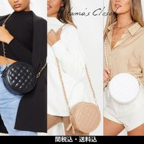 ASOS Casual Style Blended Fabrics Chain Plain Shoulder Bags