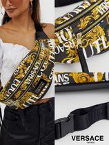 VERSACE JEANS Casual Style Unisex Street Style 2WAY Shoulder Bags