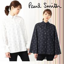 Paul Smith Casual Style Long Sleeves Cotton Medium Elegant Style