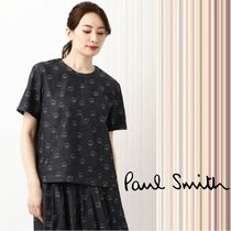 Paul Smith Casual Style Denim Cotton Medium Short Sleeves