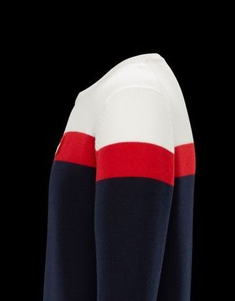 MONCLER Knits & Sweaters Crew Neck Unisex Long Sleeves Knits & Sweaters 5