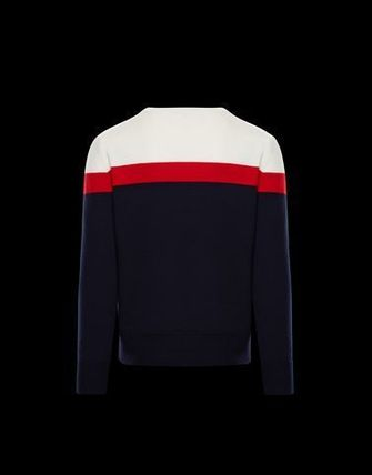 MONCLER Knits & Sweaters Crew Neck Unisex Long Sleeves Knits & Sweaters 6