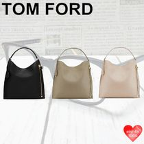 TOM FORD Casual Style Calfskin Street Style Bag in Bag 2WAY Plain