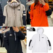 THE NORTH FACE WHITE LABEL Unisex Street Style Bi-color Long Sleeves Tops