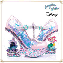 Disney Platform Round Toe Casual Style Collaboration