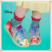 Disney Lace-up Casual Style Collaboration Low-Top Sneakers
